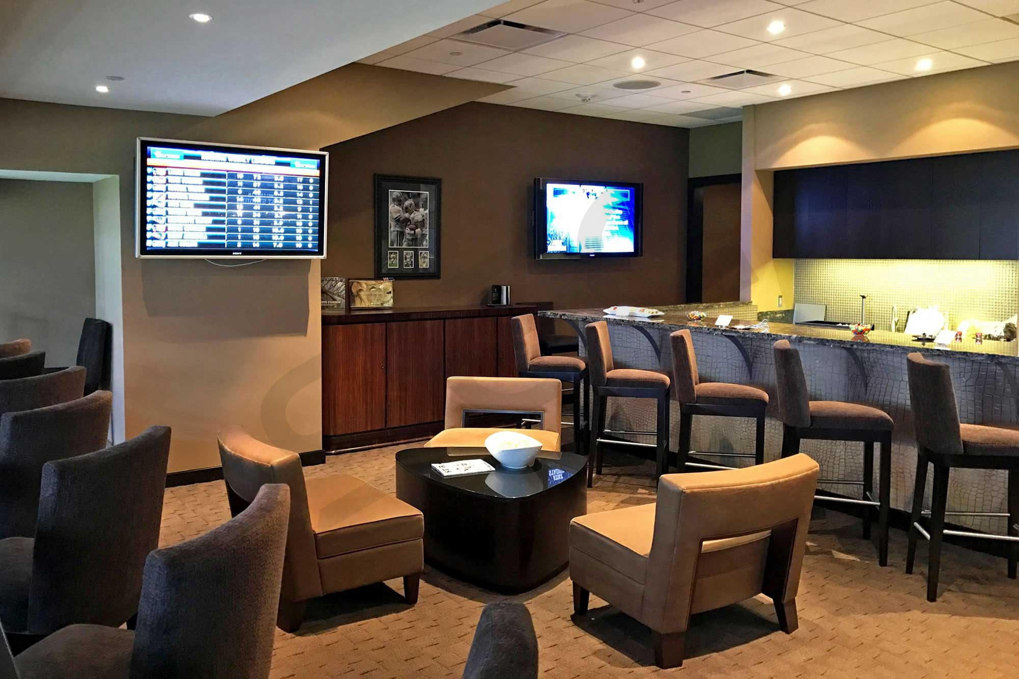Hall of Fame Suite Interior