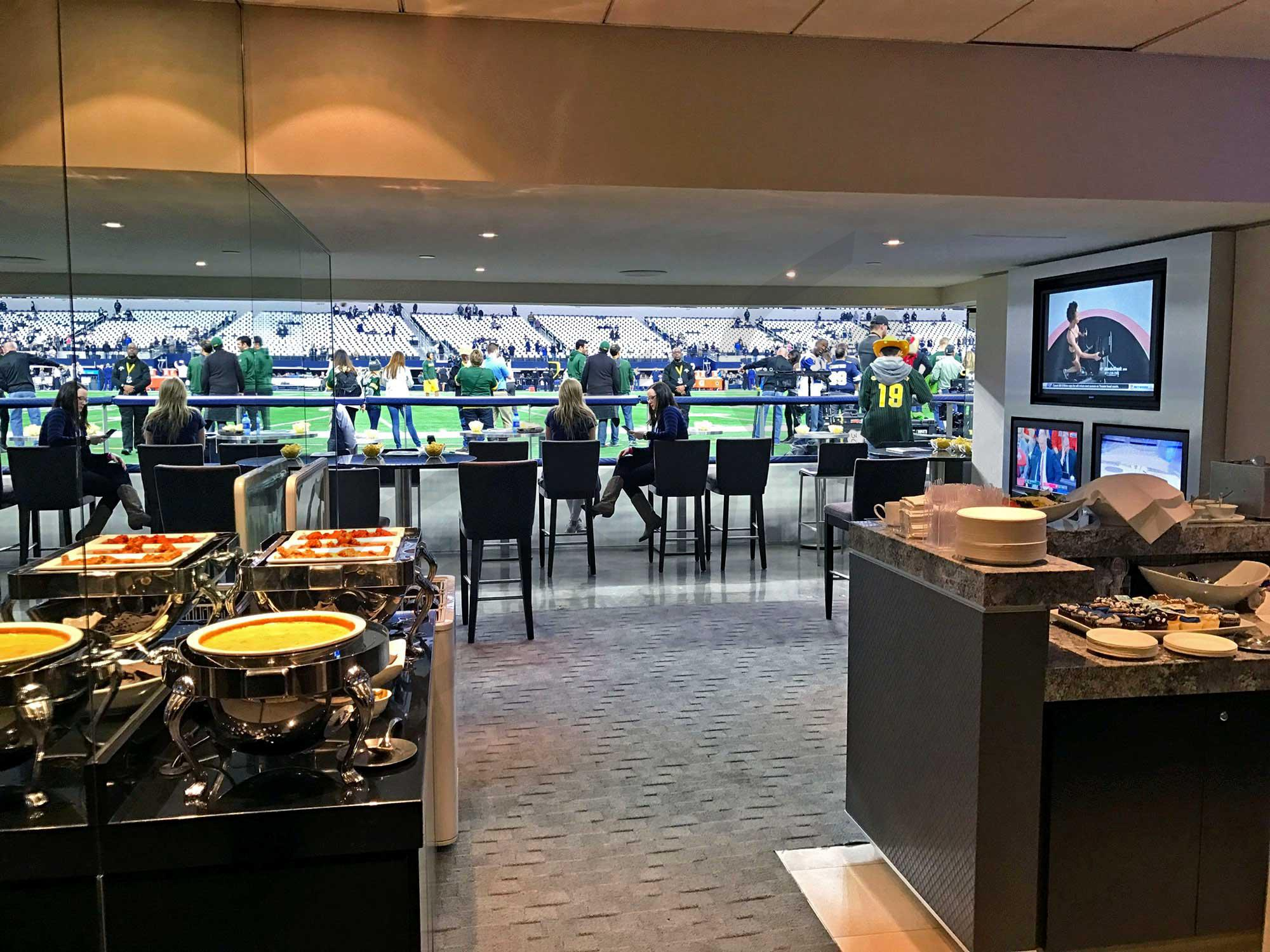 Field Level Suite Interior