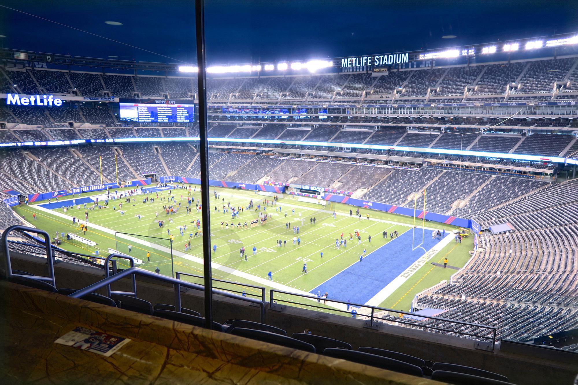 New York Giants Suite Rentals   MetLife Stadium   Suite ...