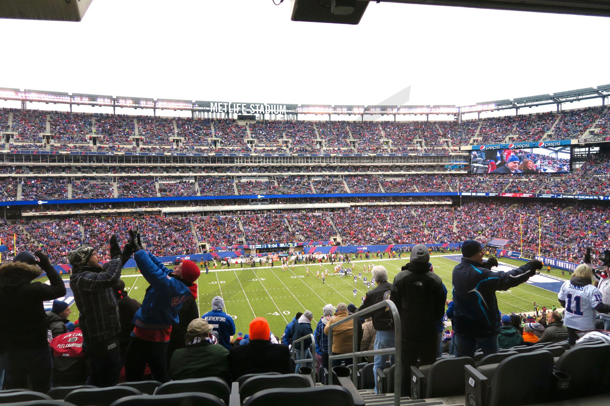 MetLife Stadium Chase Club Level