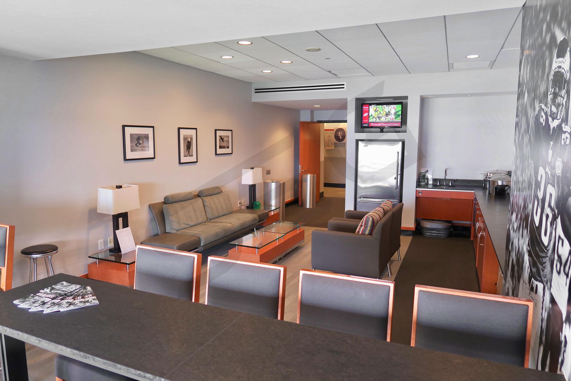 Philadelphia Eagles Suite Rentals Lincoln Financial