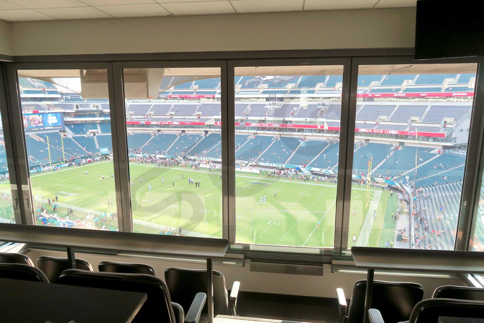 Philadelphia Eagles Suite Rentals Lincoln Financial