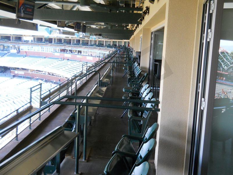 Luxury Suite Seating