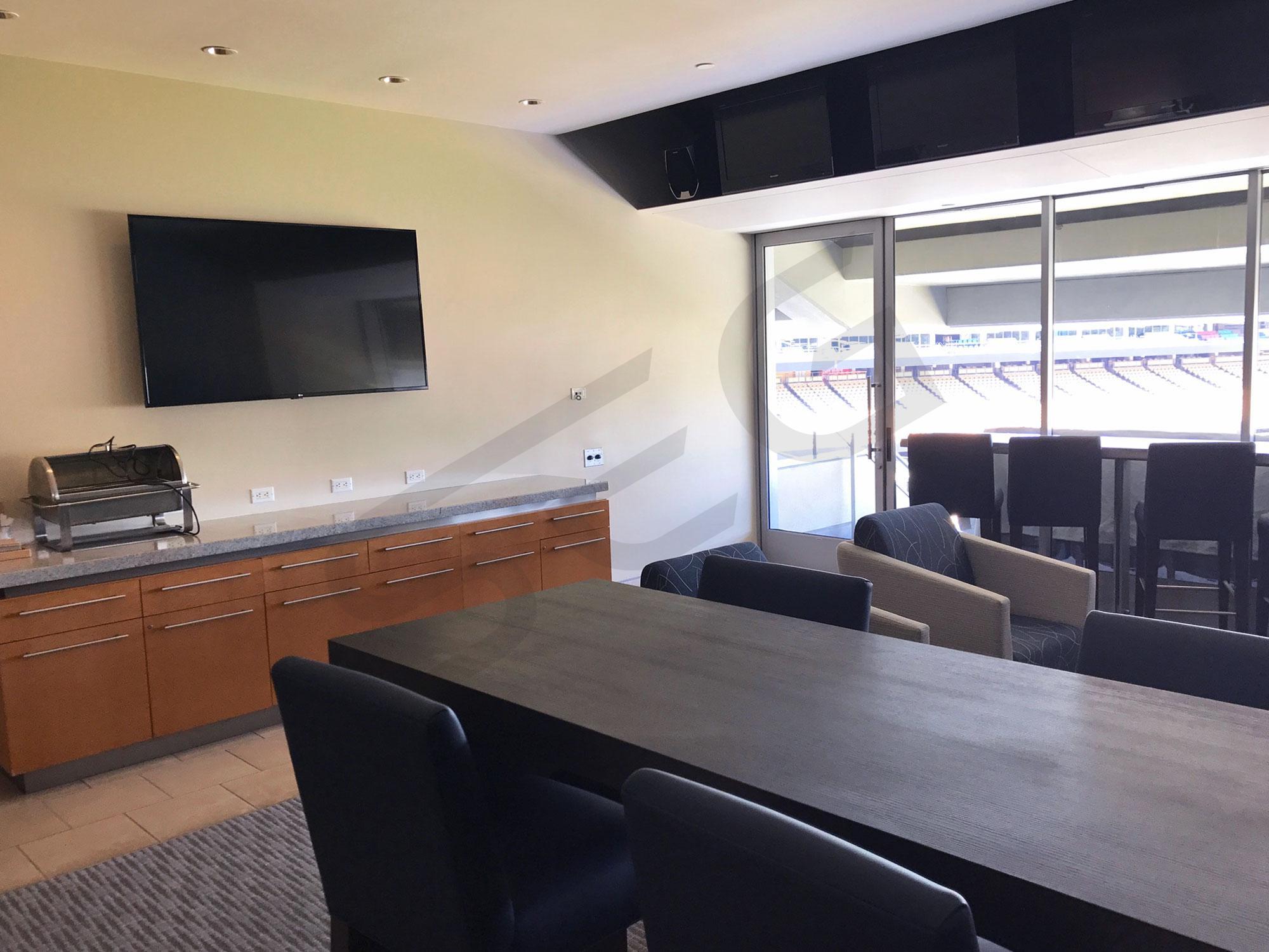 Large BMW Club Suite Interior