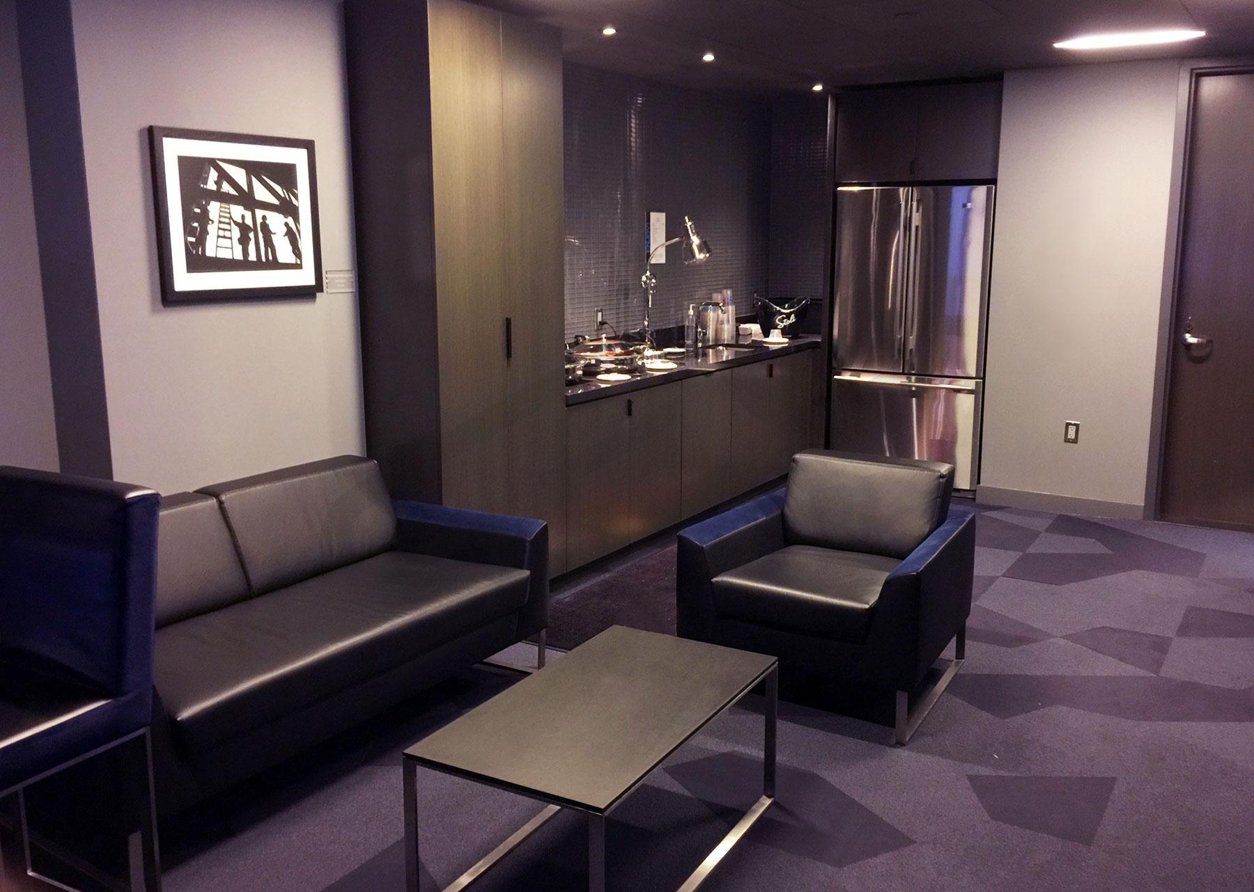 Barclays B-Level Suite Interior