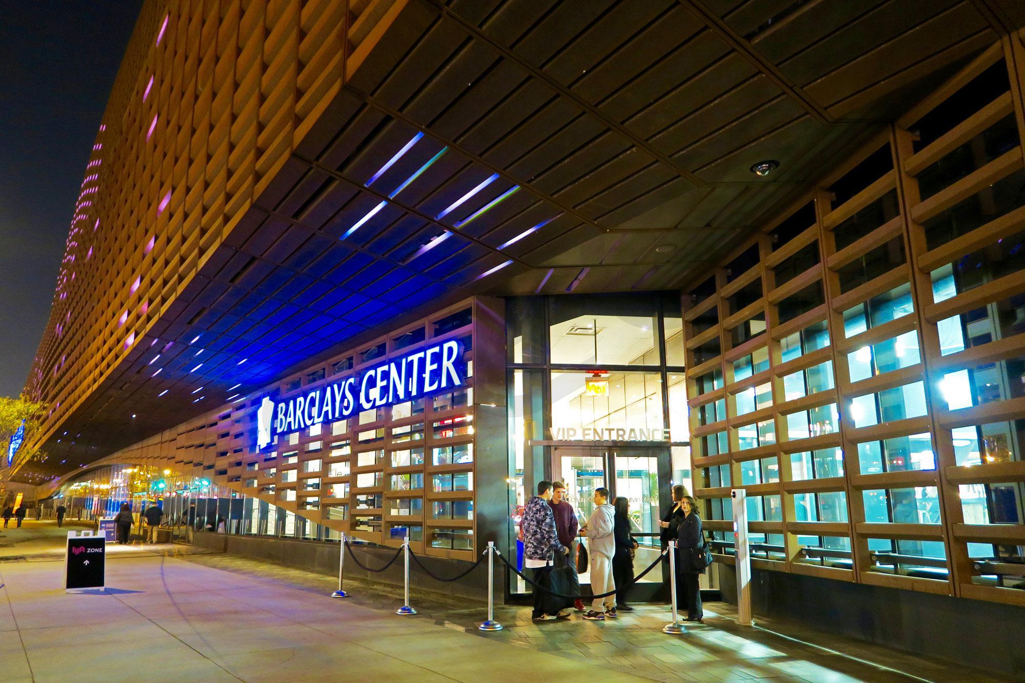 Barclays Center VIP Entrance