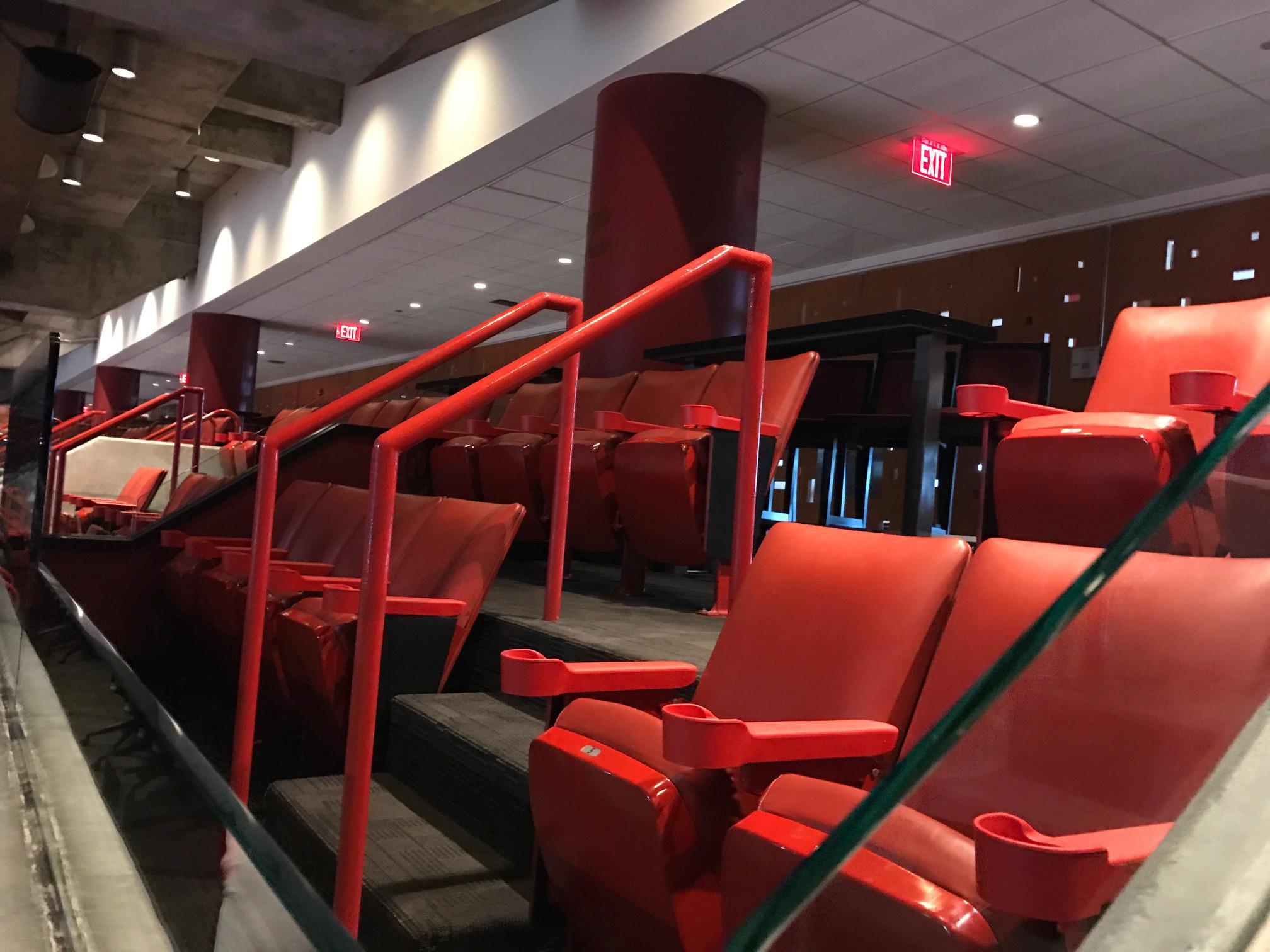 Sideline Suite Stadium Seating
