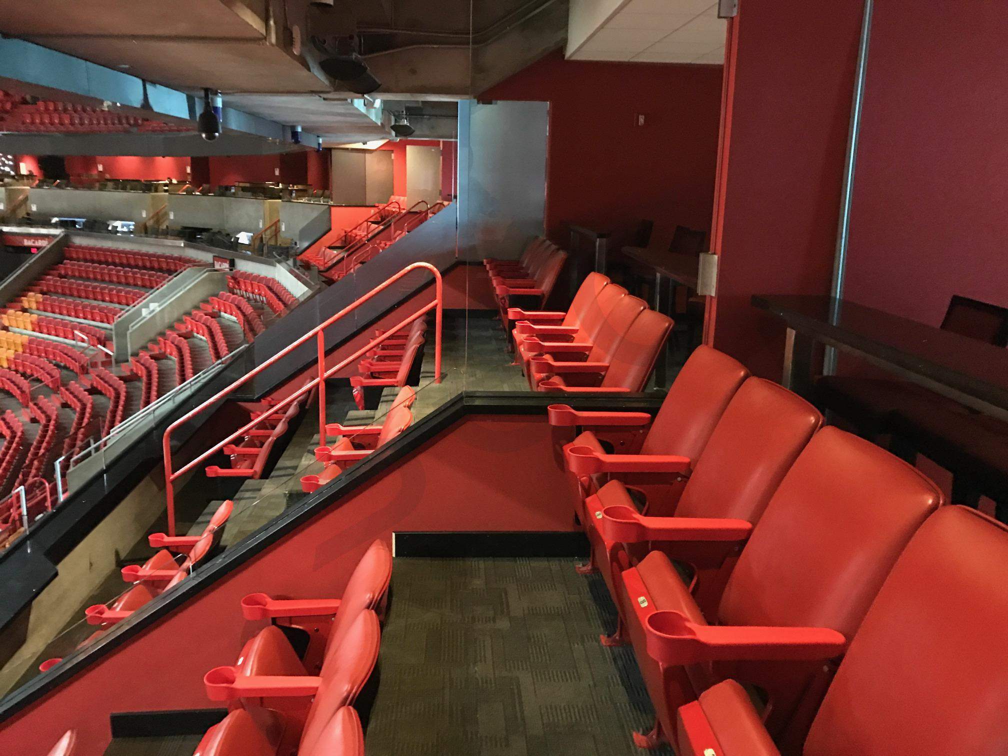 Party Suite Seating