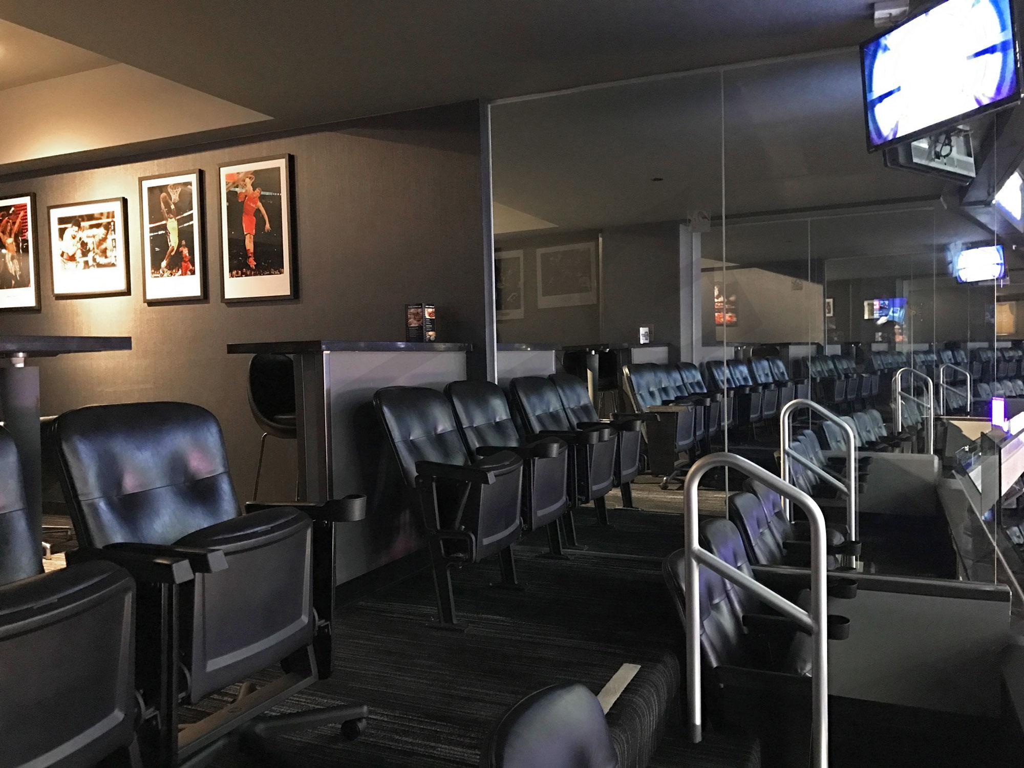 A, B, and C Level Suite Seating