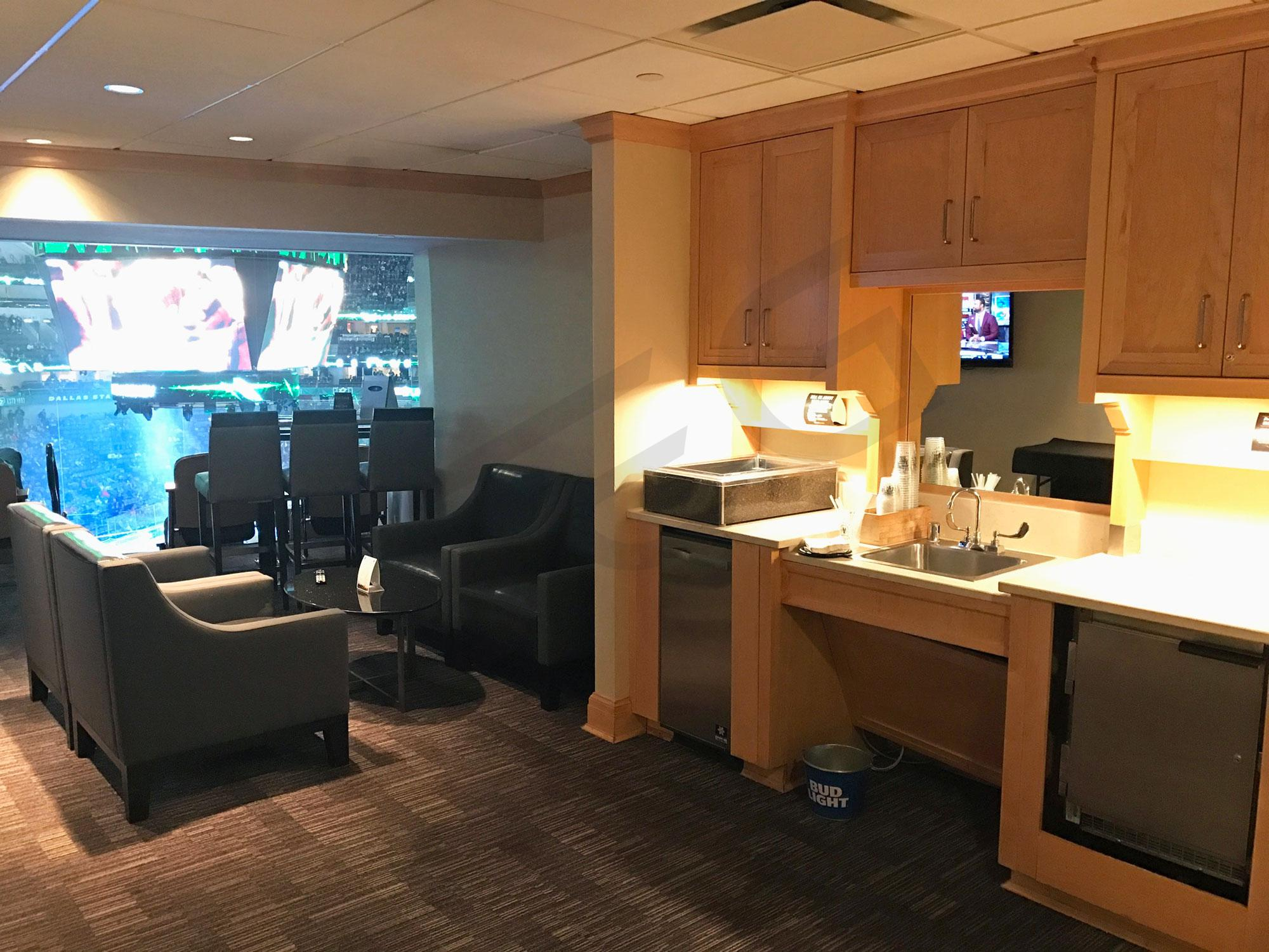 Dallas Stars Suite Rentals American Airlines Center