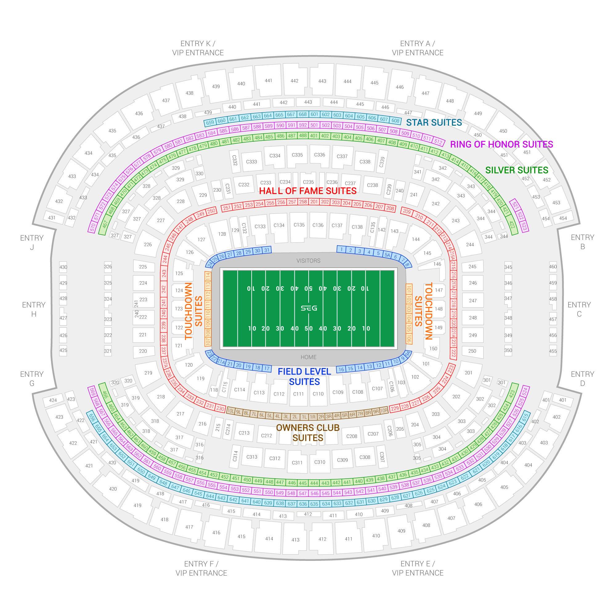 Cotton Bowl Classic Suite Rentals Att Stadium