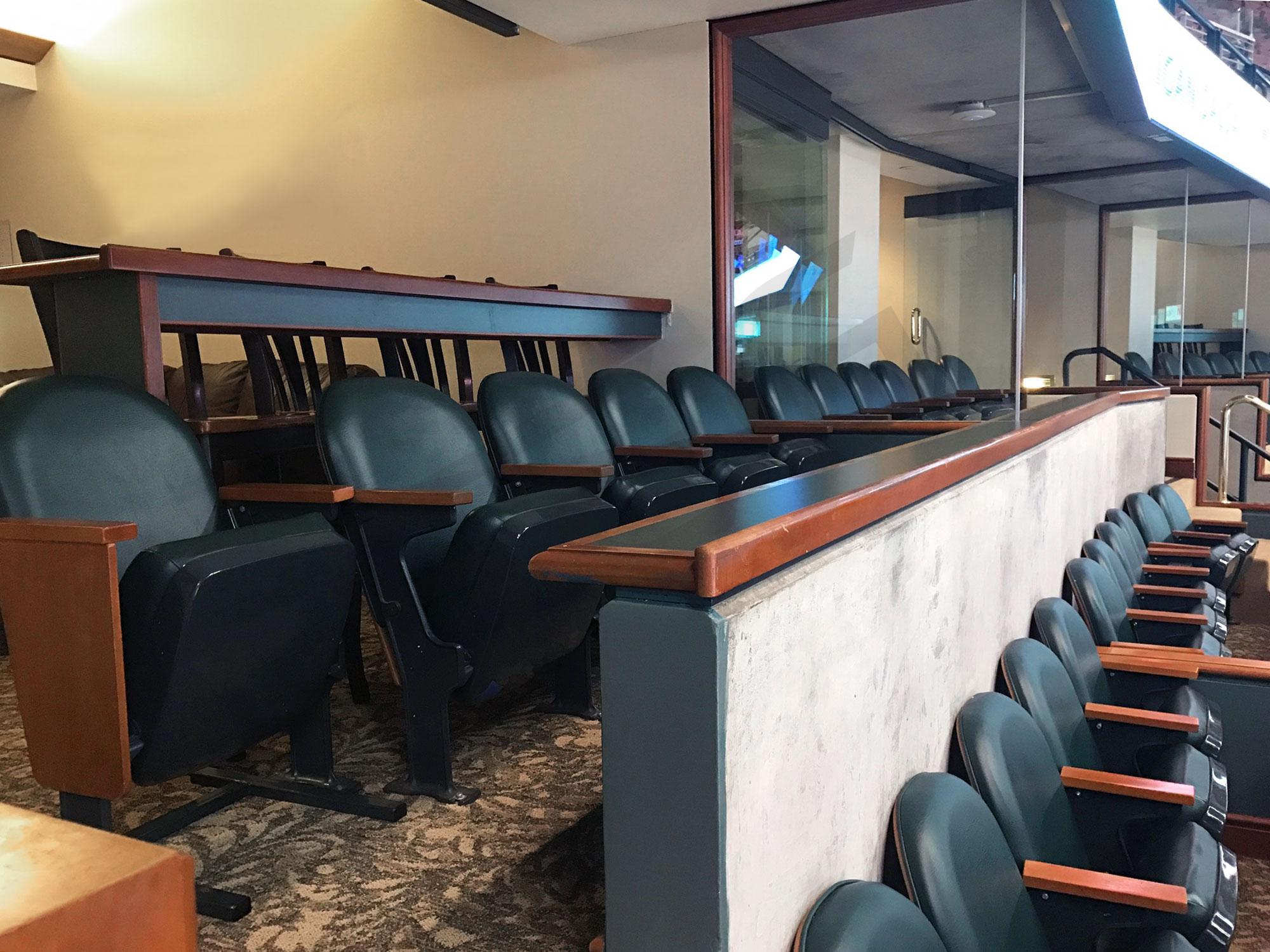 Club Level Suite Seating