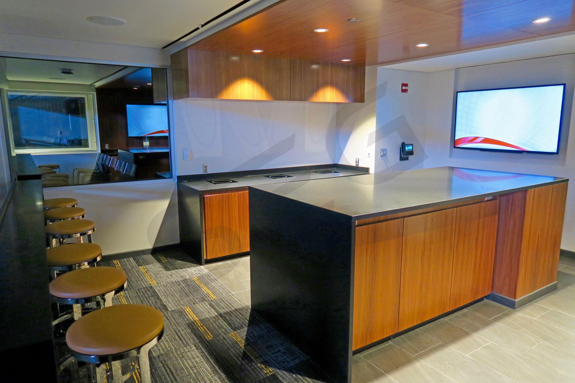 Champions Club Suite Interior