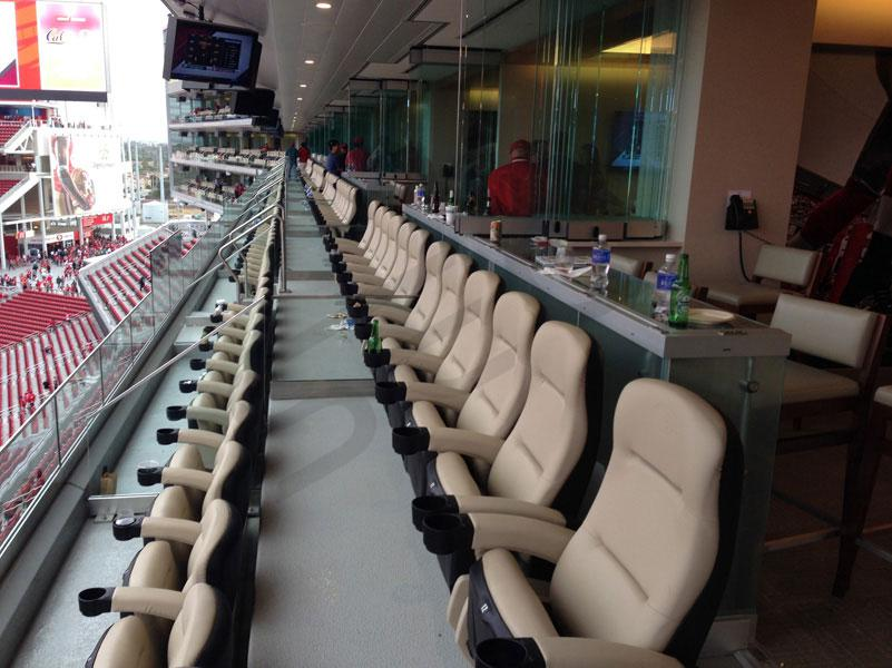 Premium Seating In Each Suite