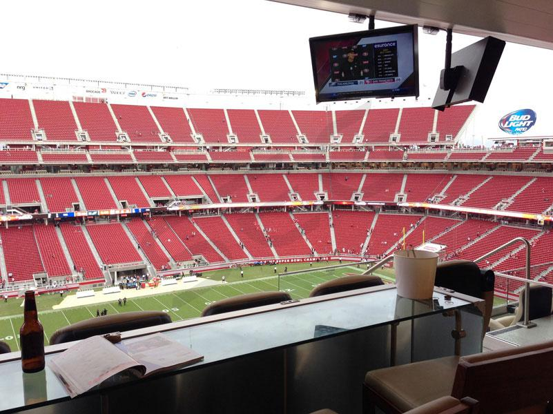 49ers Private Luxury Suite