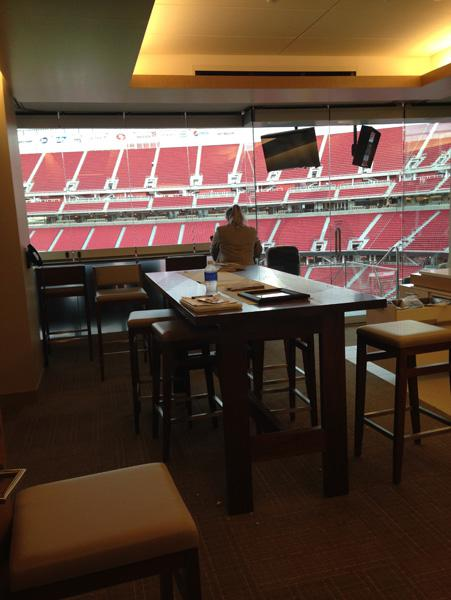Inside Your 49ers Luxury Suite