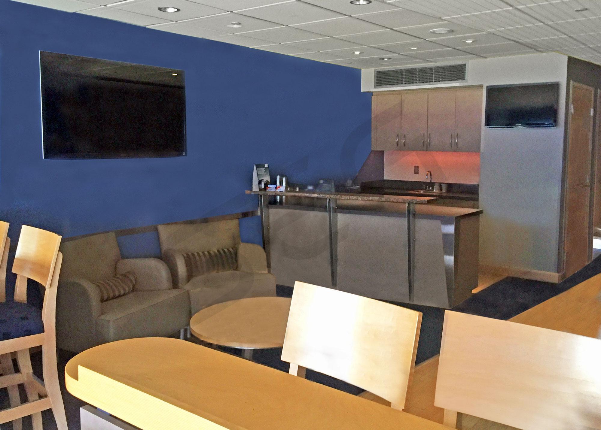 200 Level Suite Interior