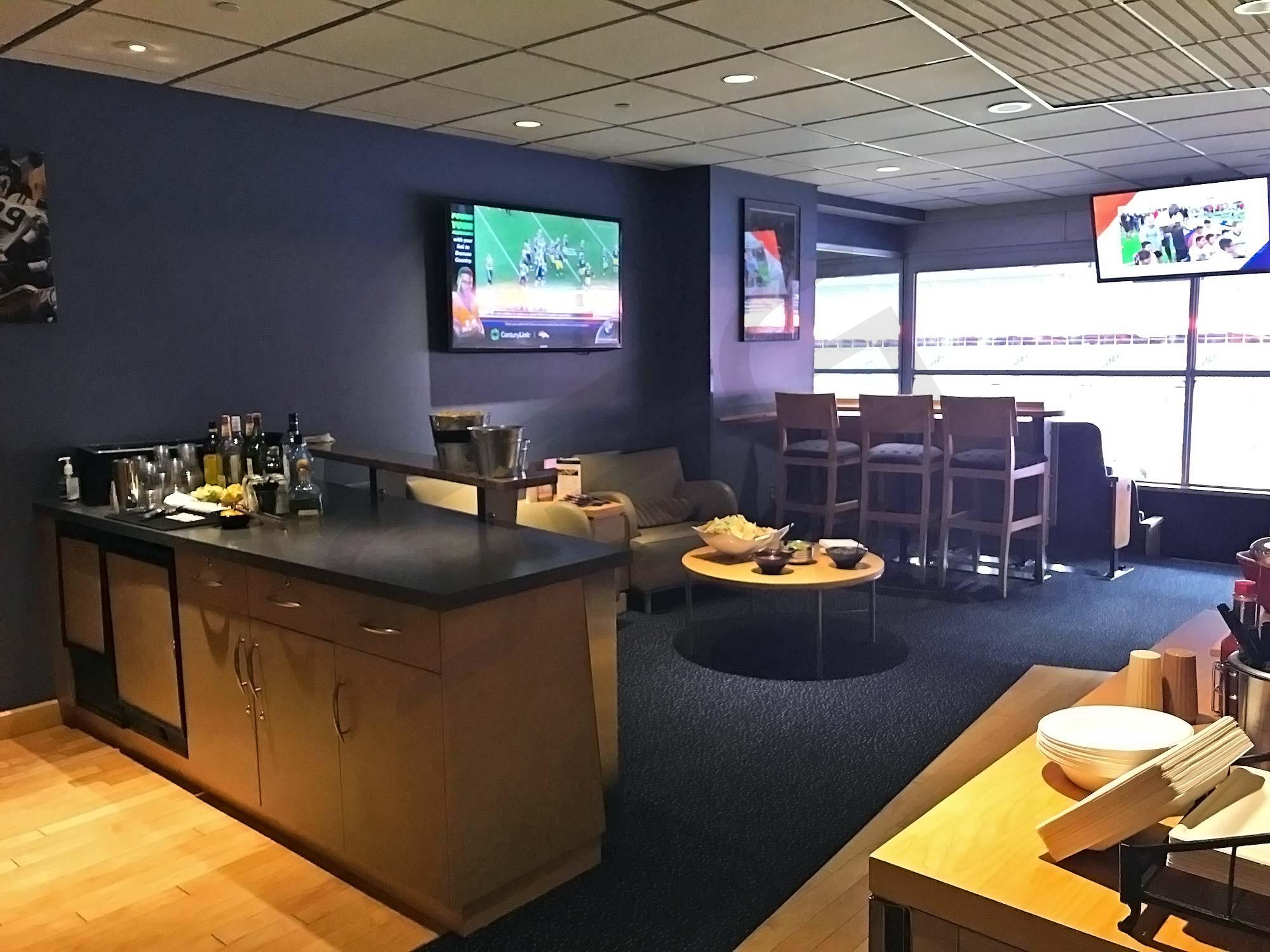 Denver Broncos Suite Rentals Sports Authority Field At