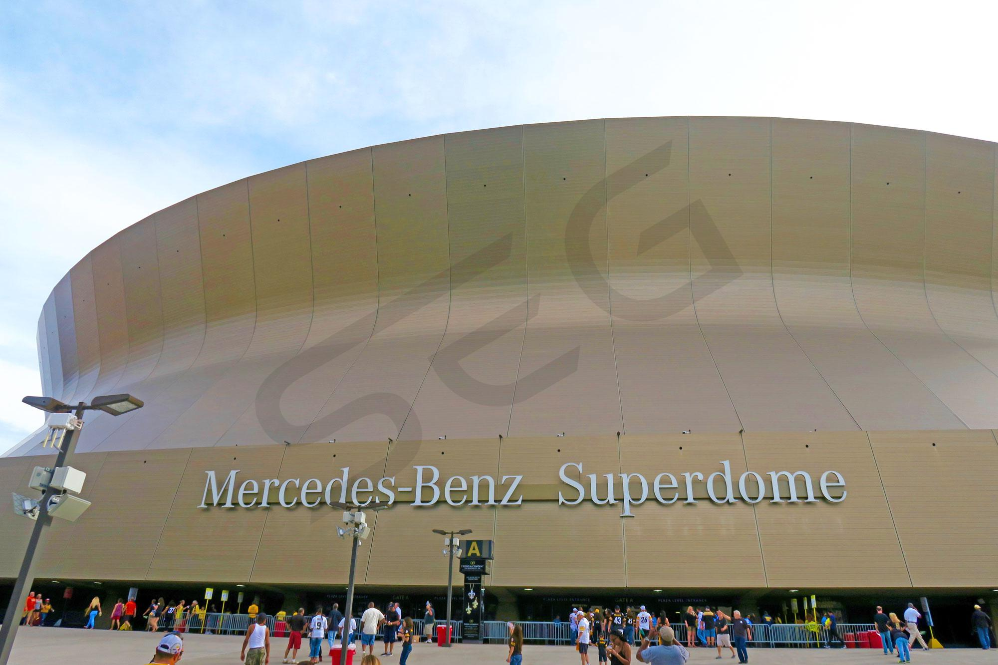 Top of mercedes benz superdome monster jam seating chart for Mercedes benz new orleans