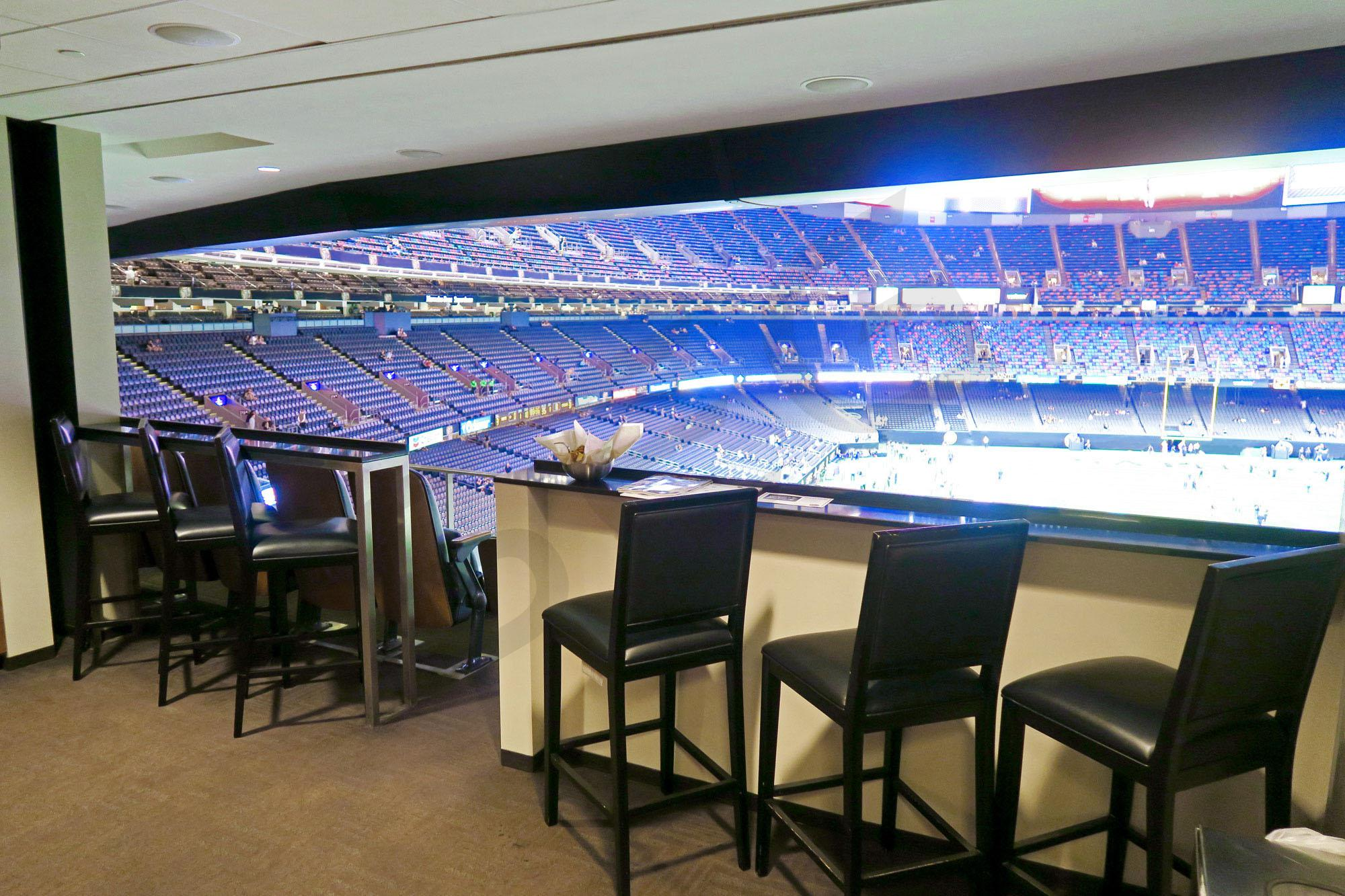 New orleans saints suite rentals mercedes benz superdome for Mercedes benz stadium suite prices