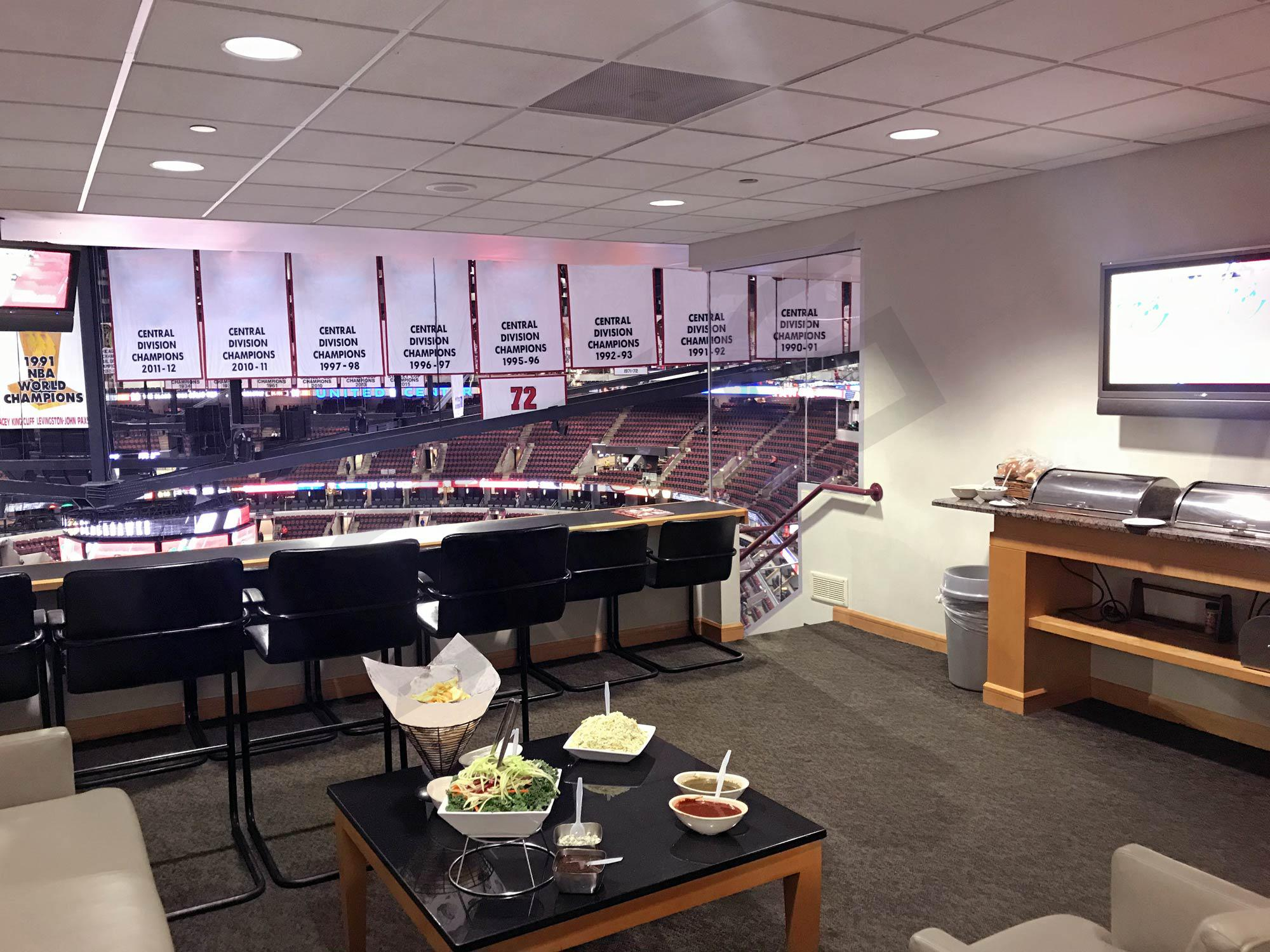 united center suite rentals suite experience group
