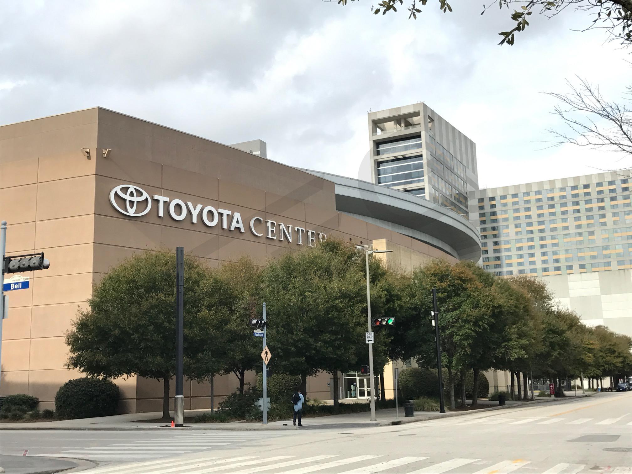 Toyota Center Exterior View
