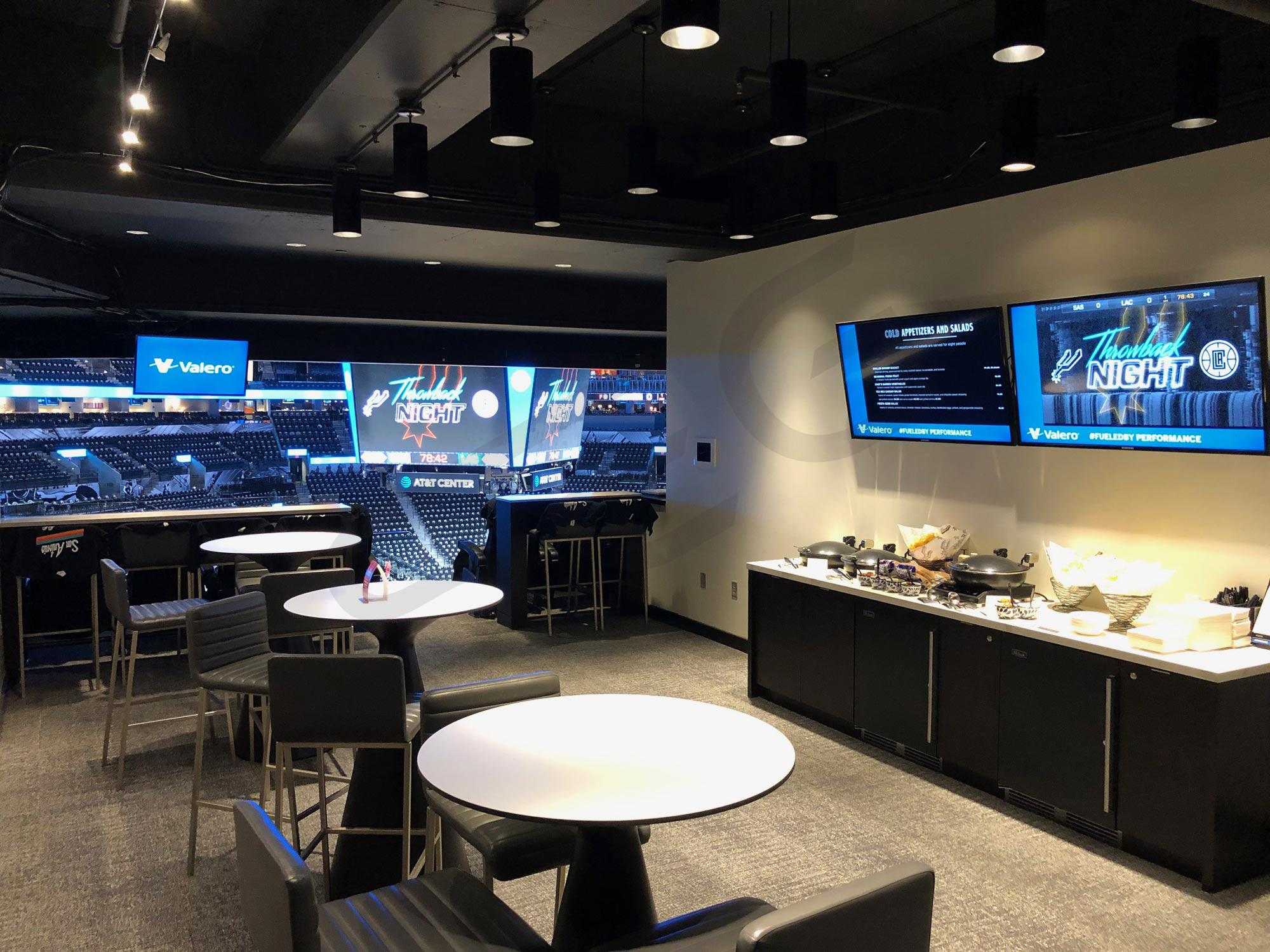 San Antonio Spurs Suite Rentals At Amp T Center Suite