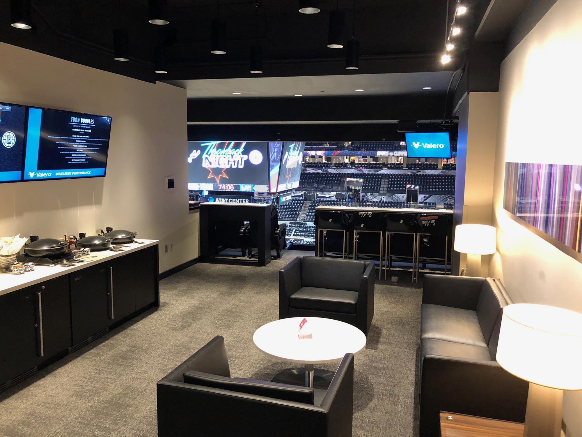 San Antonio Spurs Suite Rentals At Amp T Center Suite