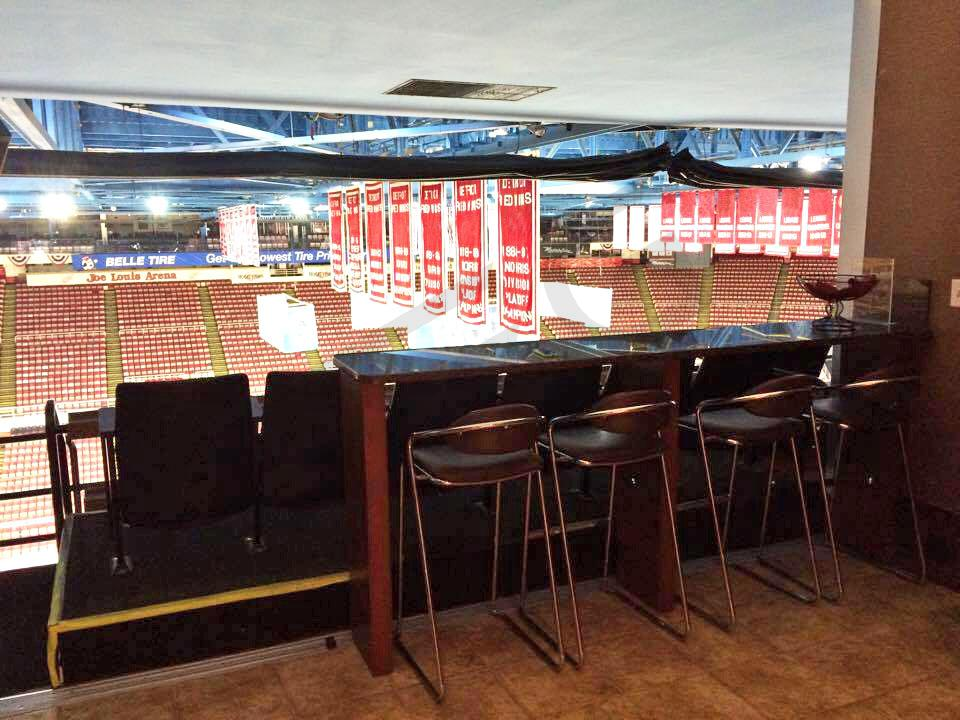 Red Wings Suite Interior
