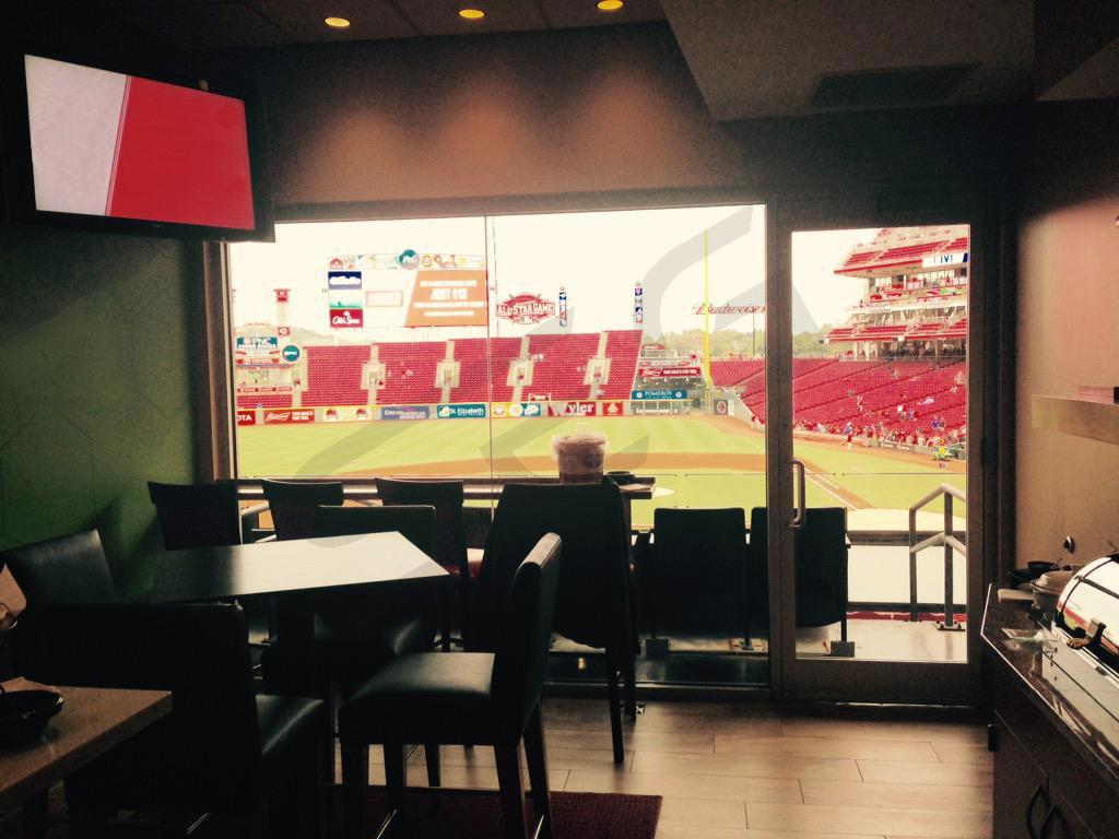 Great American Ball Park Luxury Suite