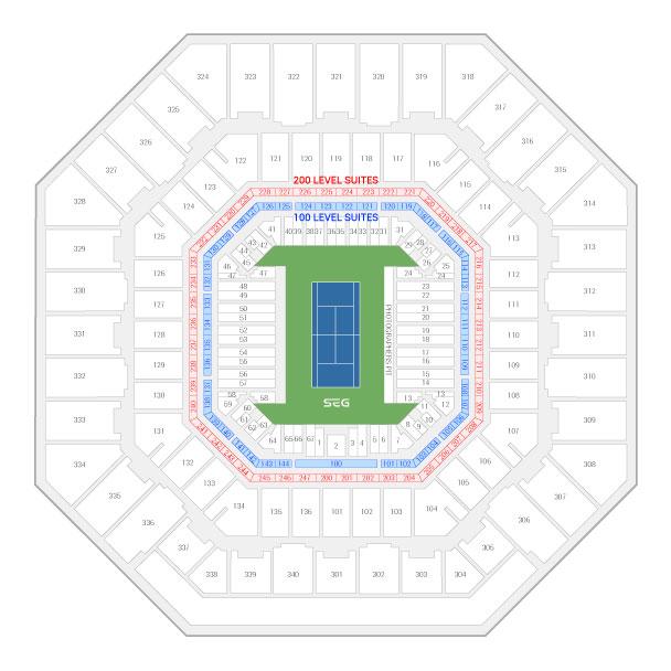 US Open Tennis Championship Suite Rentals | Arthur Ashe Stadium ...