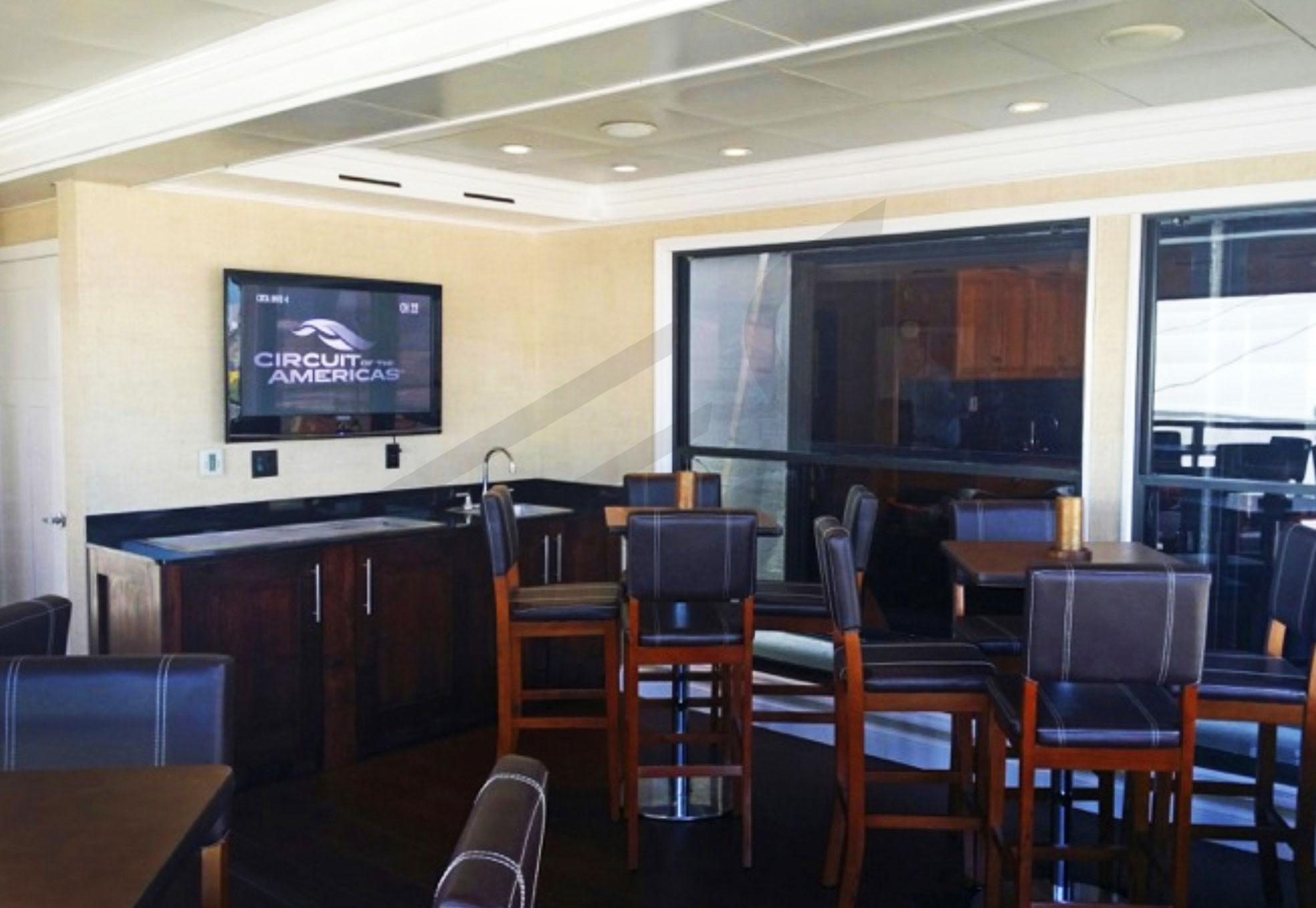 Trackside Suites Interior