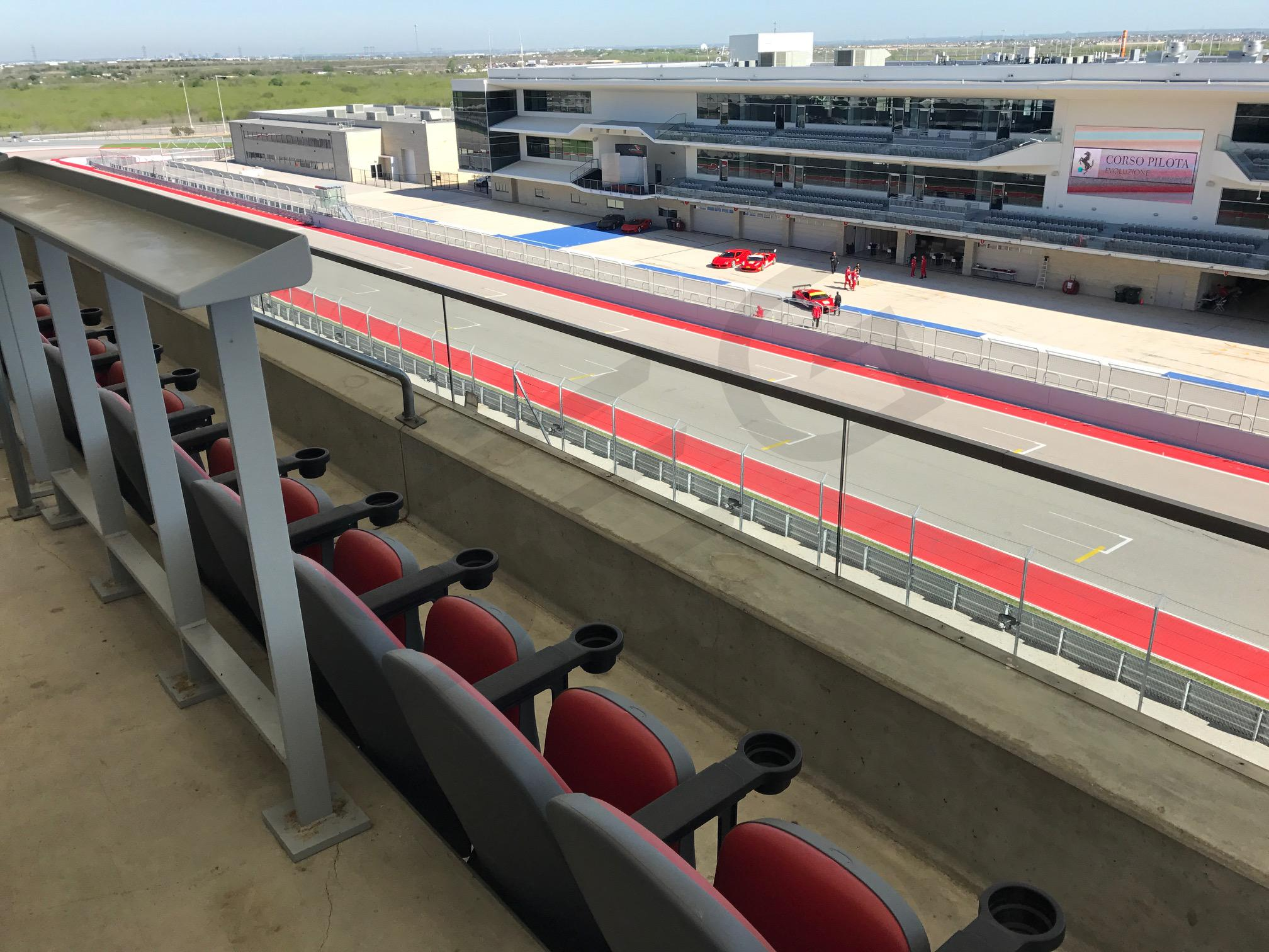 Legacy Suite View to Paddock
