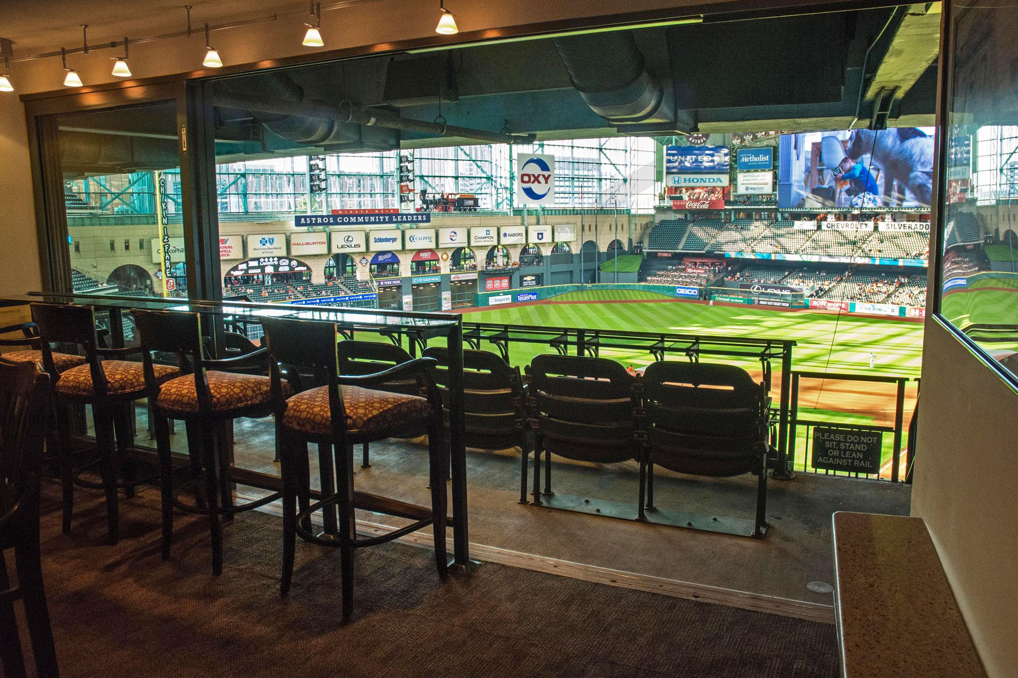 Houston Astros Suite Rentals Minute Maid Park Suite