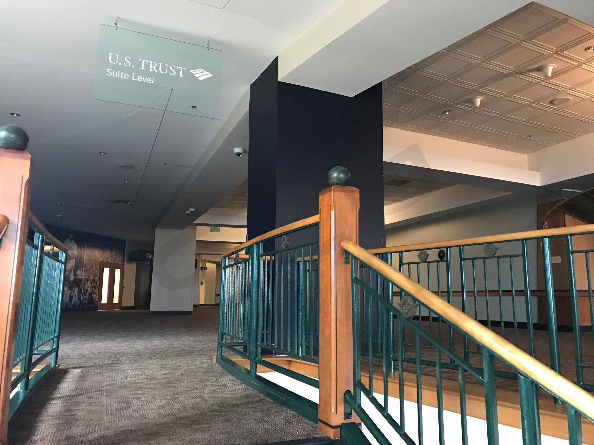 Private Suite Level Staircase