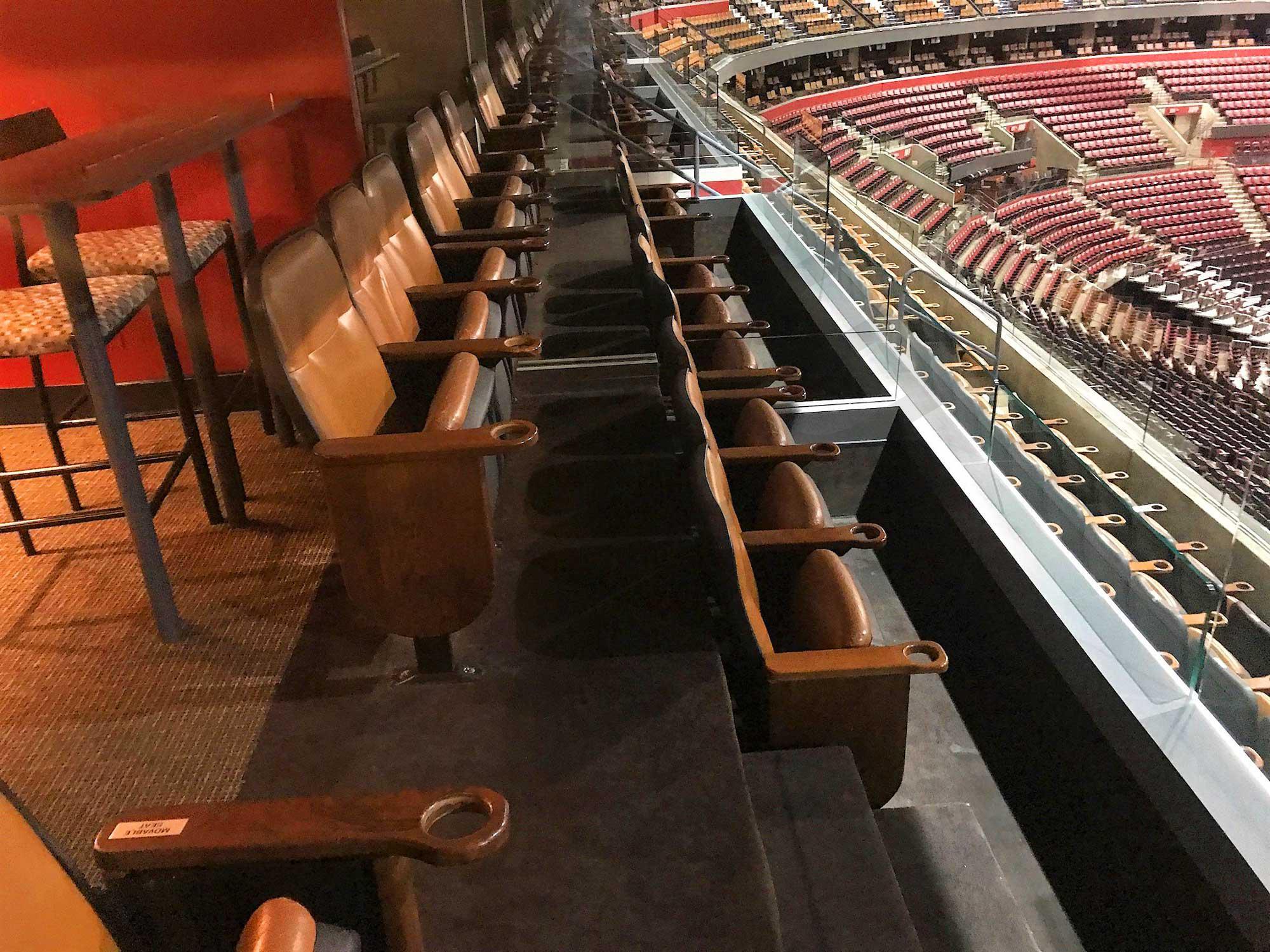 Private Luxury Suite Stadium Seating