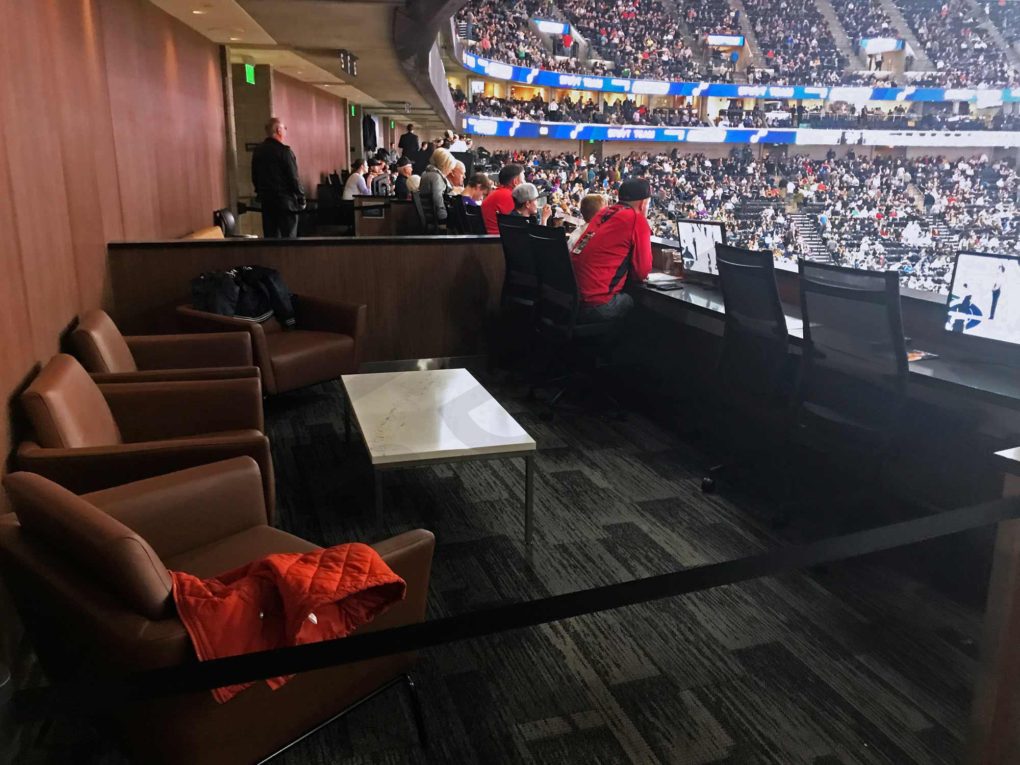 Utah jazz suite rentals vivint smart home arena suite - Interior solutions salt lake city ...