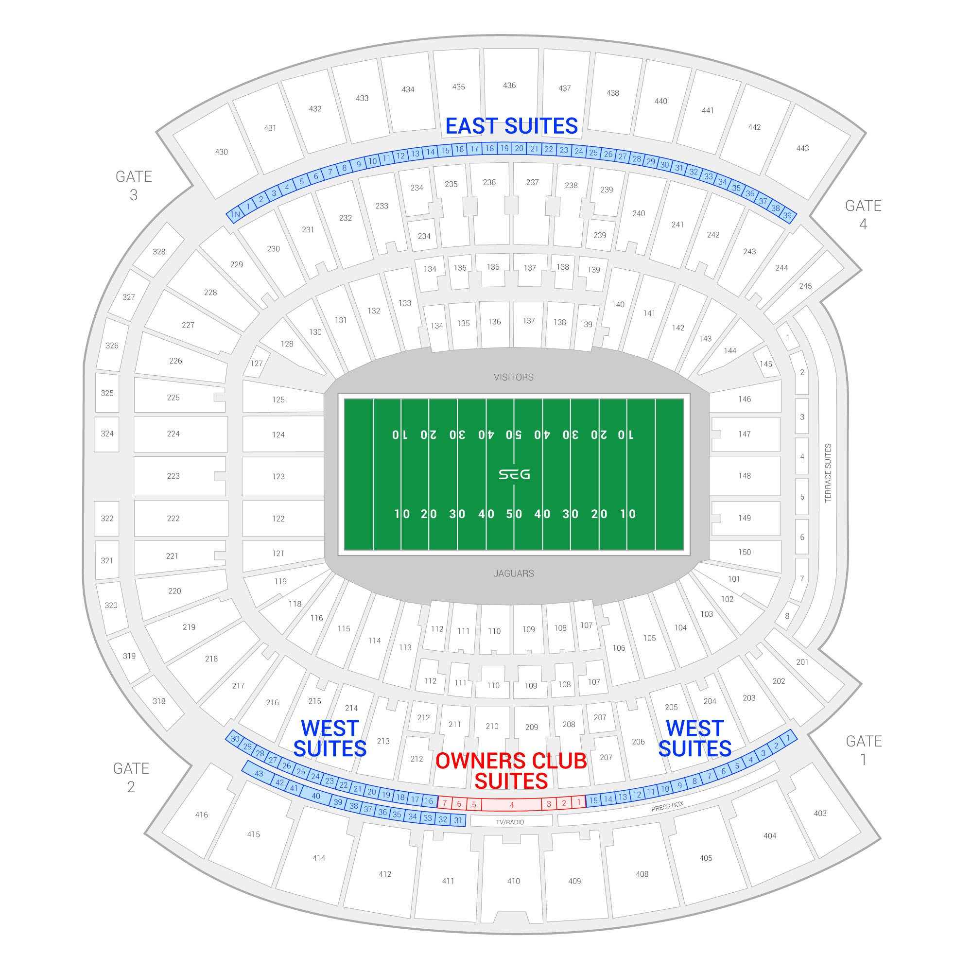 everbank field seating capacity