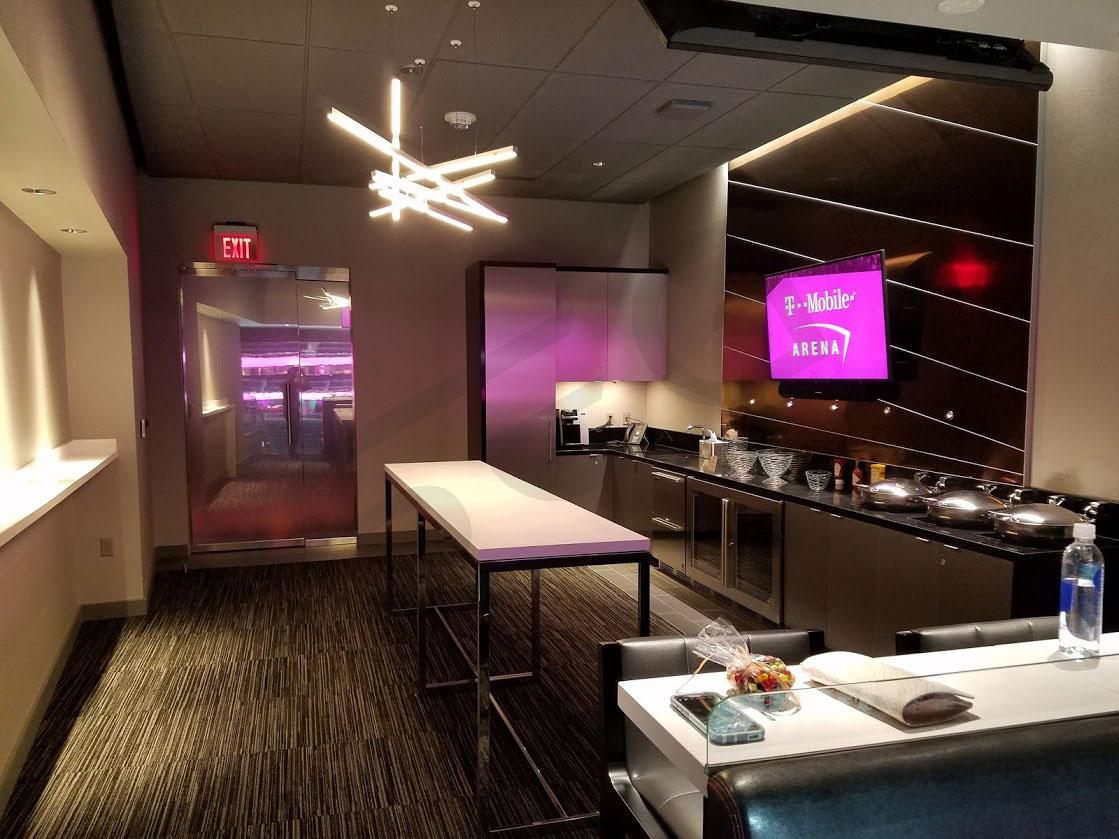 T-Mobile Arena Luxury Suite Interior