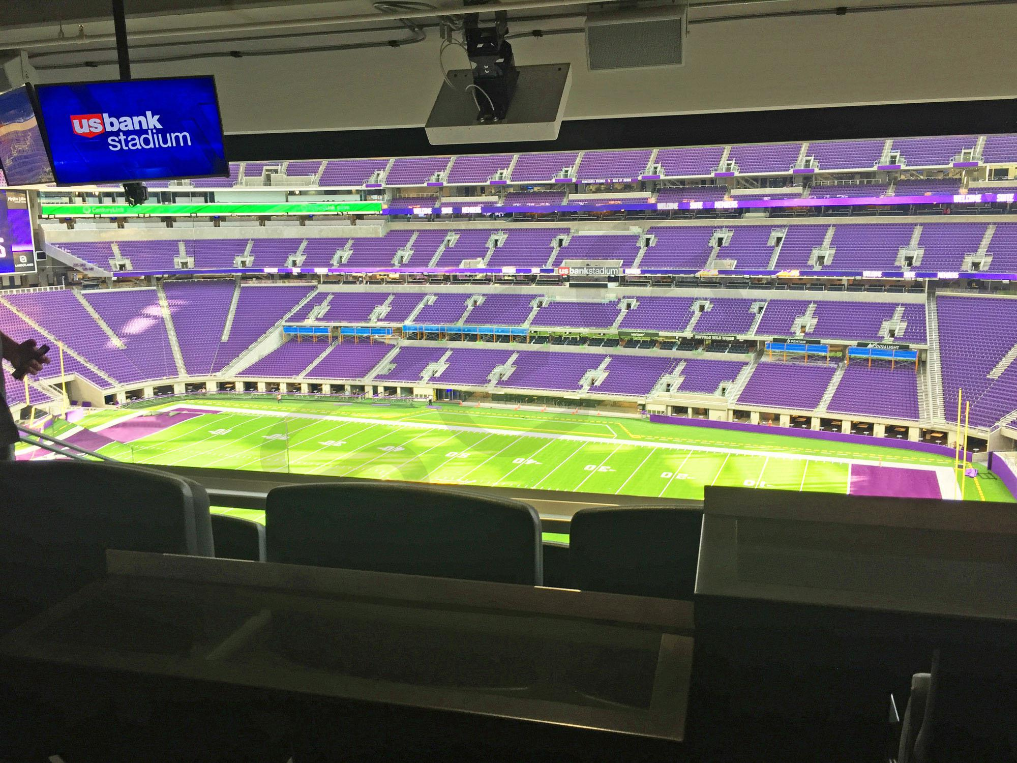 Field view from a Loft Suite