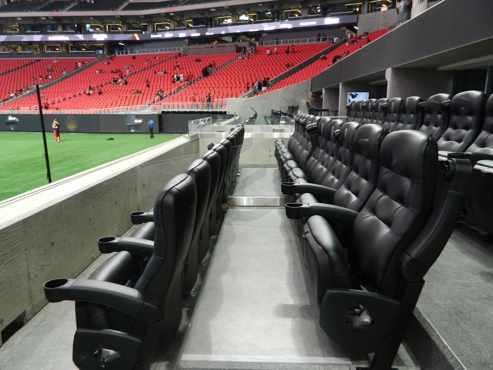 Atlanta falcons suite rentals mercedes benz stadium for Mercedes benz stadium atlanta jobs