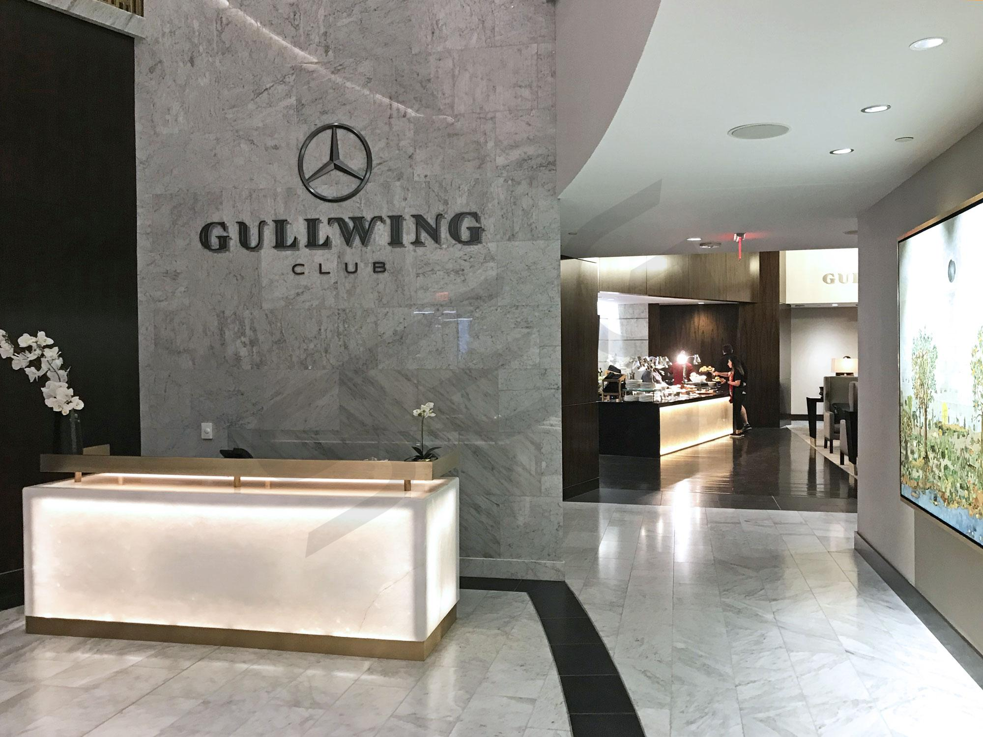 Gullwing Club Suite ticketholders have access to an incredible VIP stadium club just outside their suite