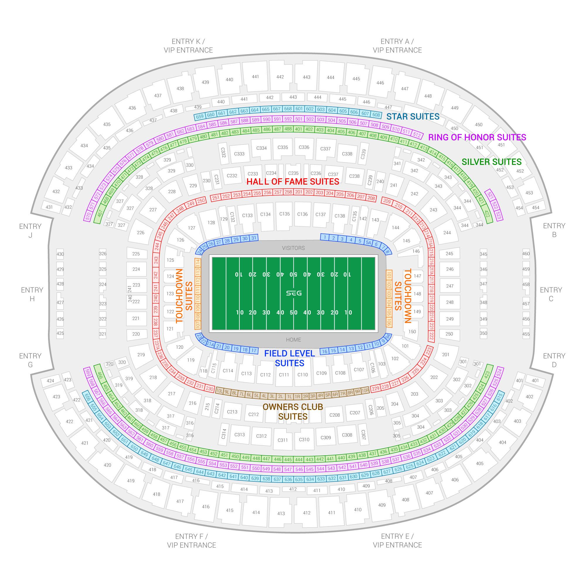 Big 12 Football Championship Game Suite Rentals | AT&T Stadium