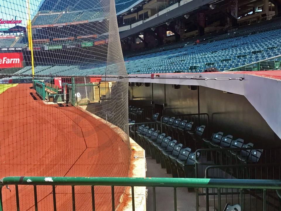 Los Angeles Angels Suite Rentals Angel Stadium Of Anaheim