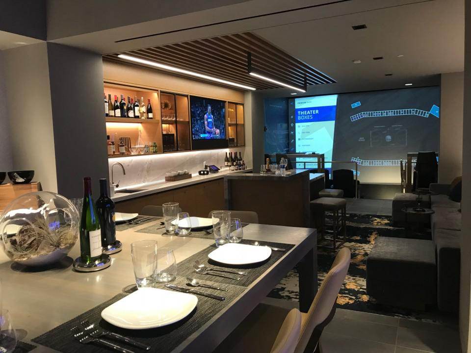 Chase Center Club Suite Interior