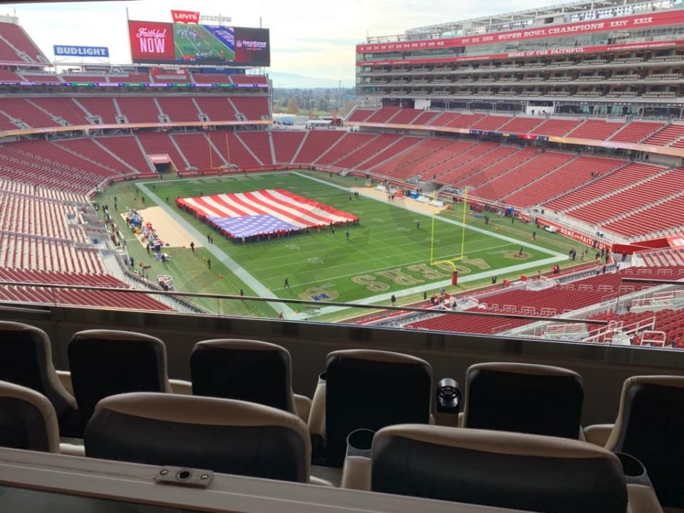 San Francisco 49ers Suite Rentals | Levi's Stadium