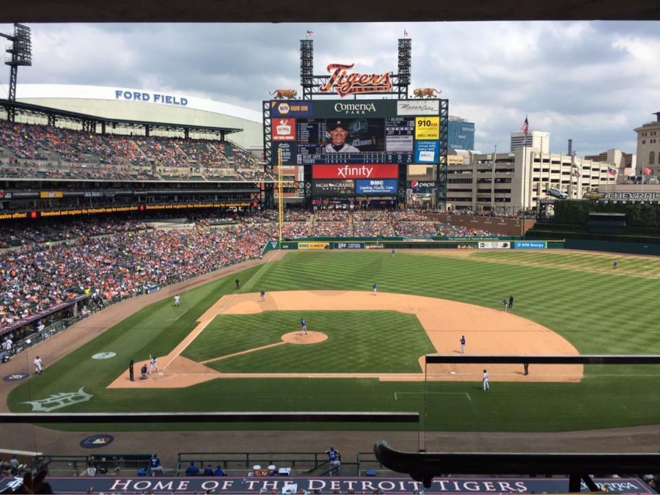Detroit Tigers Suite Rentals | Comerica Park