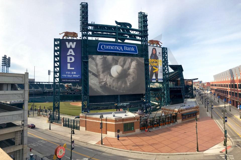 Detroit Tigers Suite Rentals Comerica Park