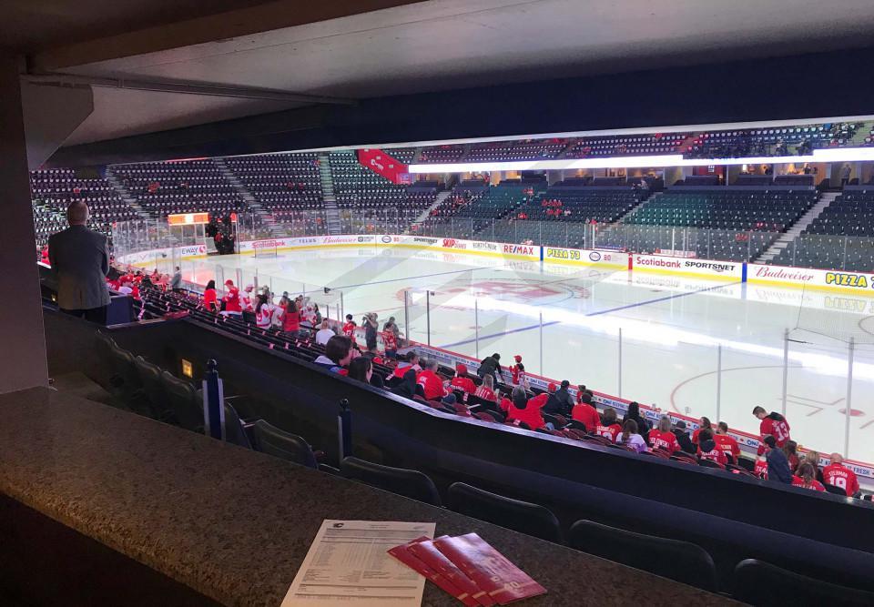 Calgary Flames Suite Rentals Scotiabank Saddledome