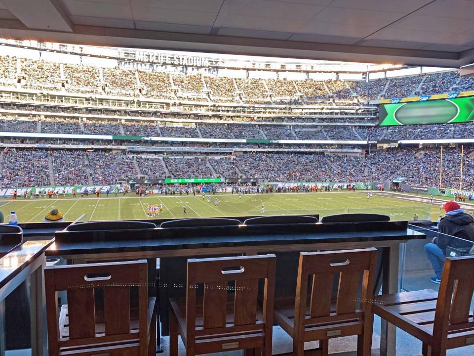 New York Giants Suite Rentals | MetLife Stadium